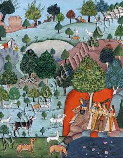 Ragini Todi Painting