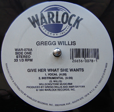 Gregg Willis - Give Her What She Wants 1990