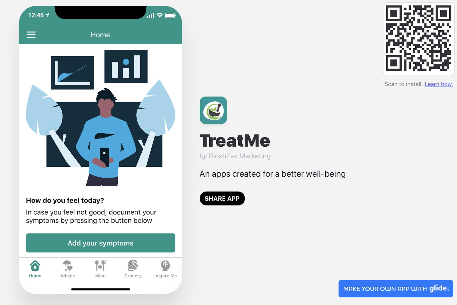 TreatMe Apps