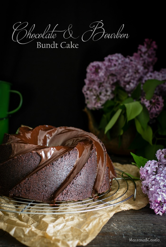Bundt cake de chocolate y Bourbon