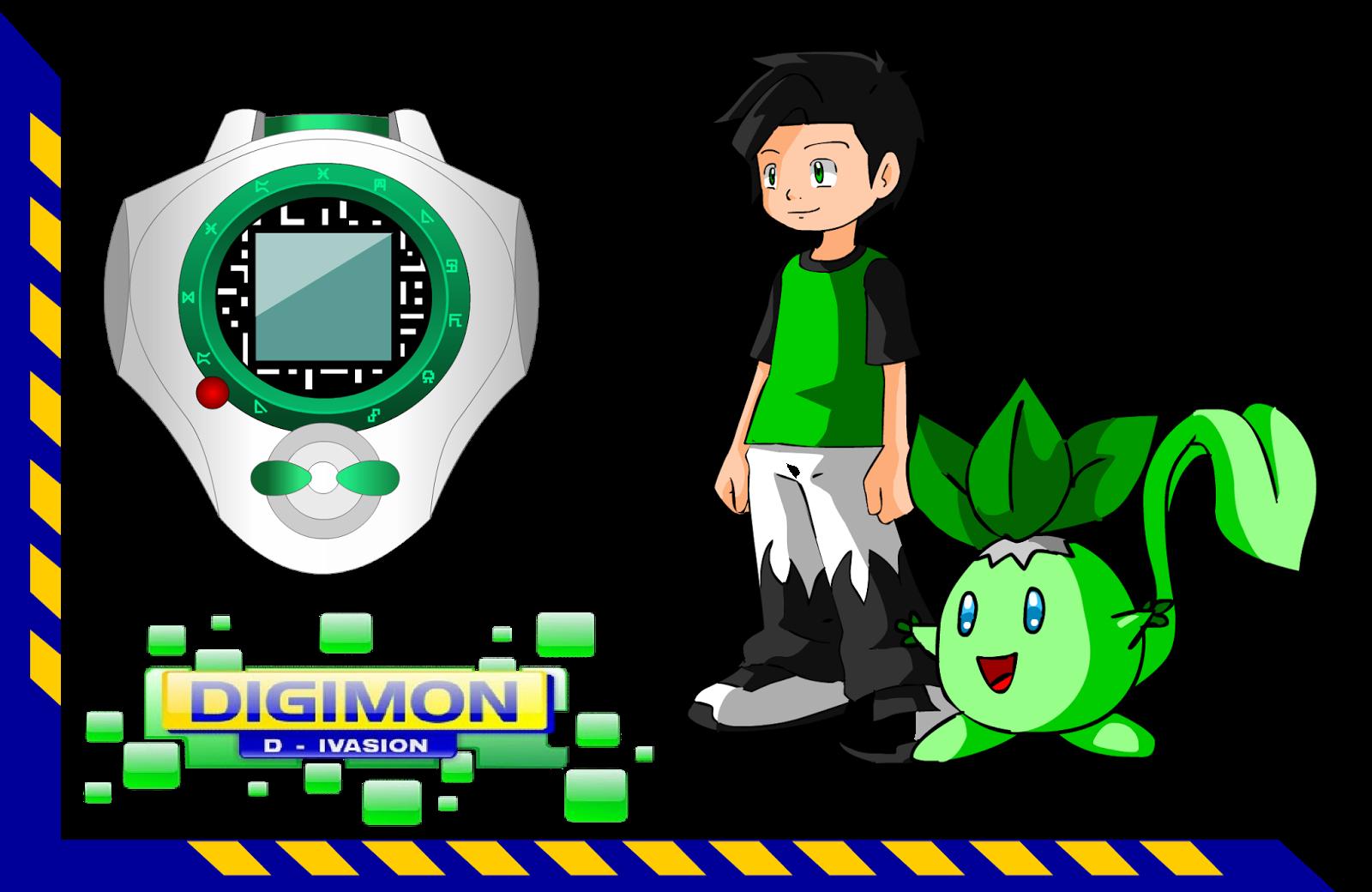 Digimon D-invasion novas imagens e preview do episódio 4 RAFA