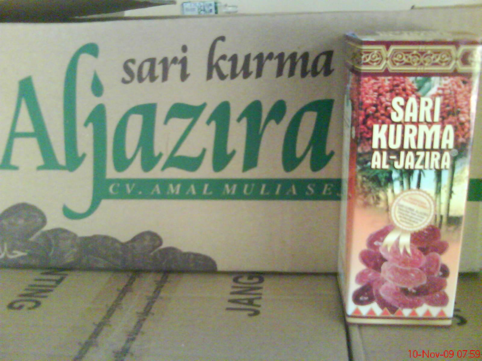 Hikmah Herbal Agency Sari Kurma Aljazira Harga Rp 25000