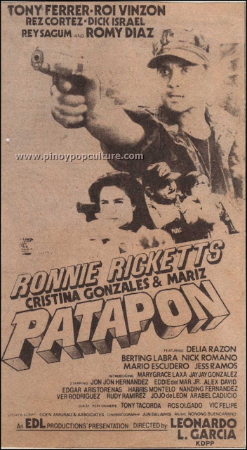 Patapon, movies, Ronnie Ricketts