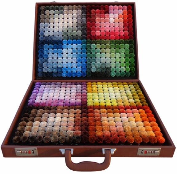 Silk colour box for designers