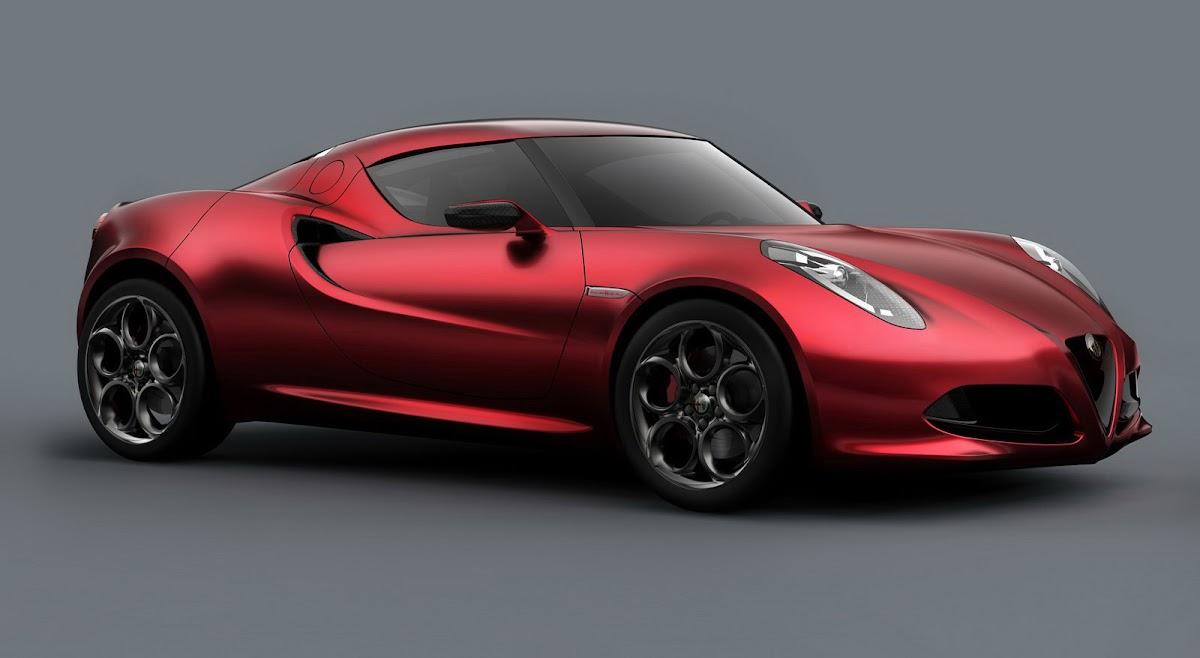 2013 Geneva Show: Alfa Romeo 4C