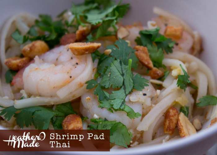homemade shrimp pad thai recipe