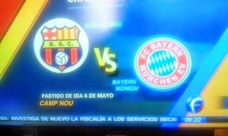 Barcelona SC jugará en la Liga de Campeones de Europa