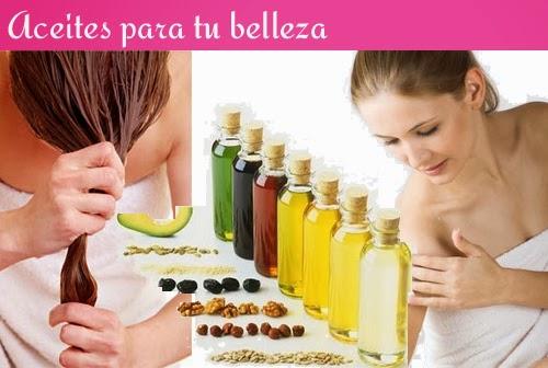 aceites naturales belleza