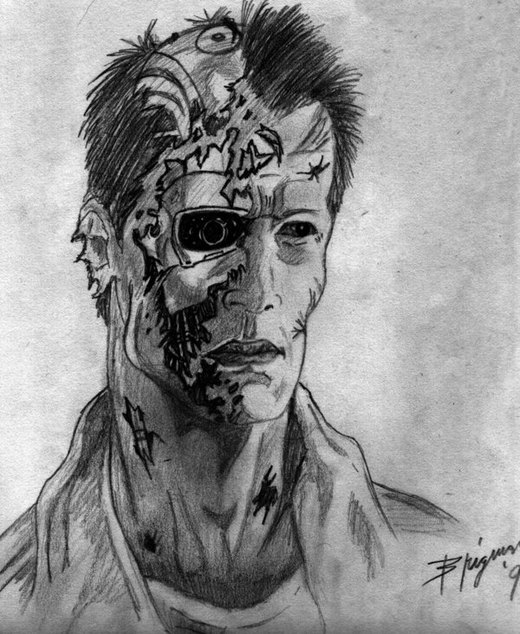 T-800 por Punisher75