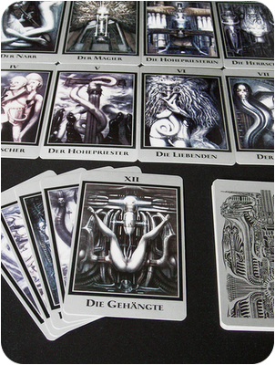 h. r. giger tarot