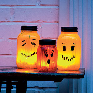 Decorate For Halloween With Solar Lights!
