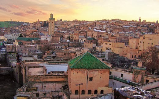 10 places to honeymoon for the year 2014 Marrakesh city in Morocco