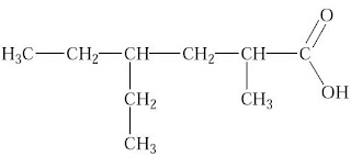 asam 4–etil–2–metilheksanoat