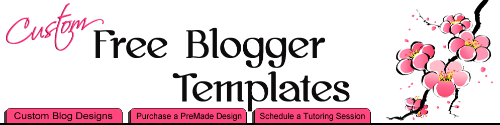 Free Blogger Templates Templates by Custom Blog Designs