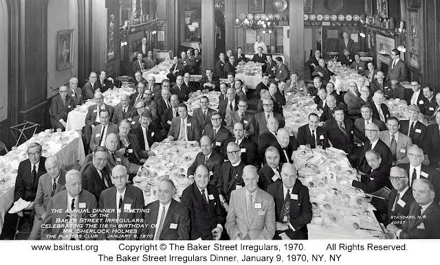 The 1970 BSI Dinner group photo
