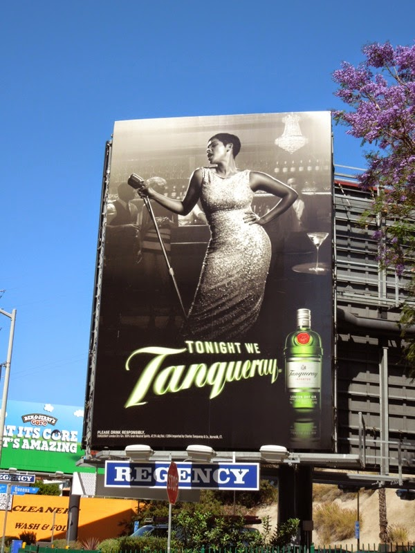 Tonight we Tanqueray gin singer billboard