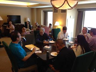 iPhone brainstorming session at CSUN