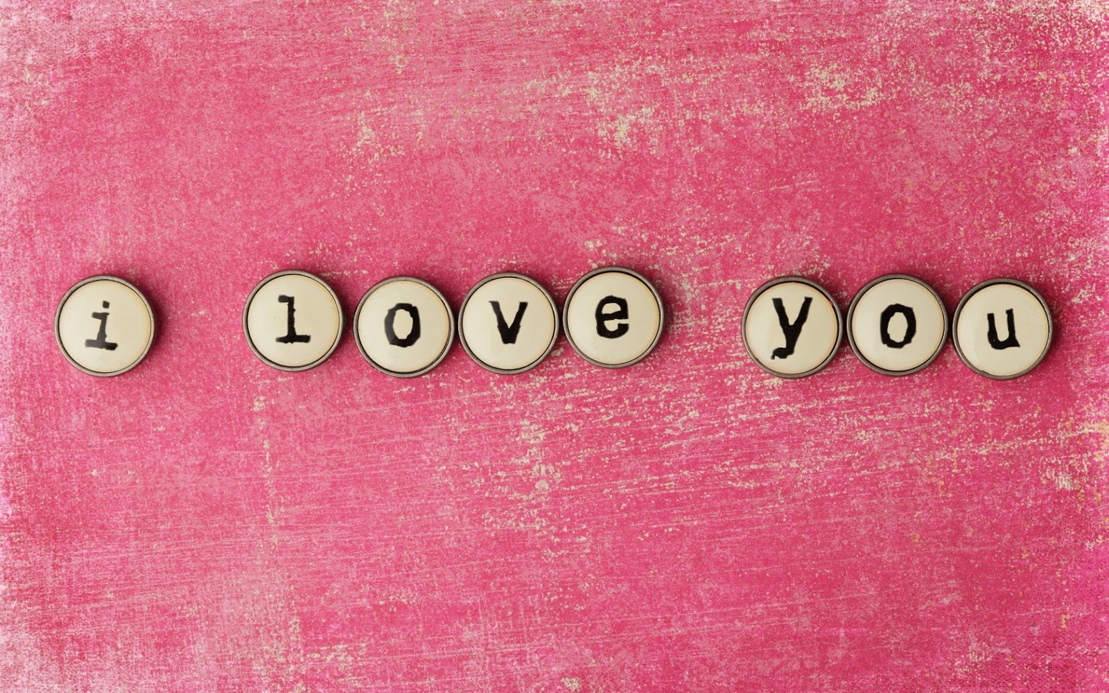 Cute Pink I Love You Image