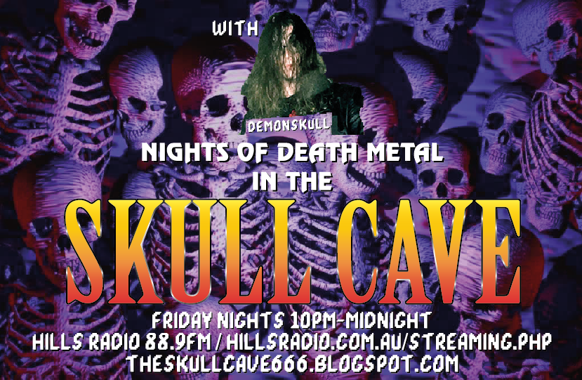 NIGHTS OF DEATH METAL IN THE SKULL CAVE