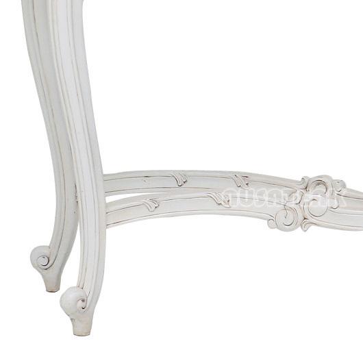 Rantau French Style Console Table Left Leg - Nusa Teak