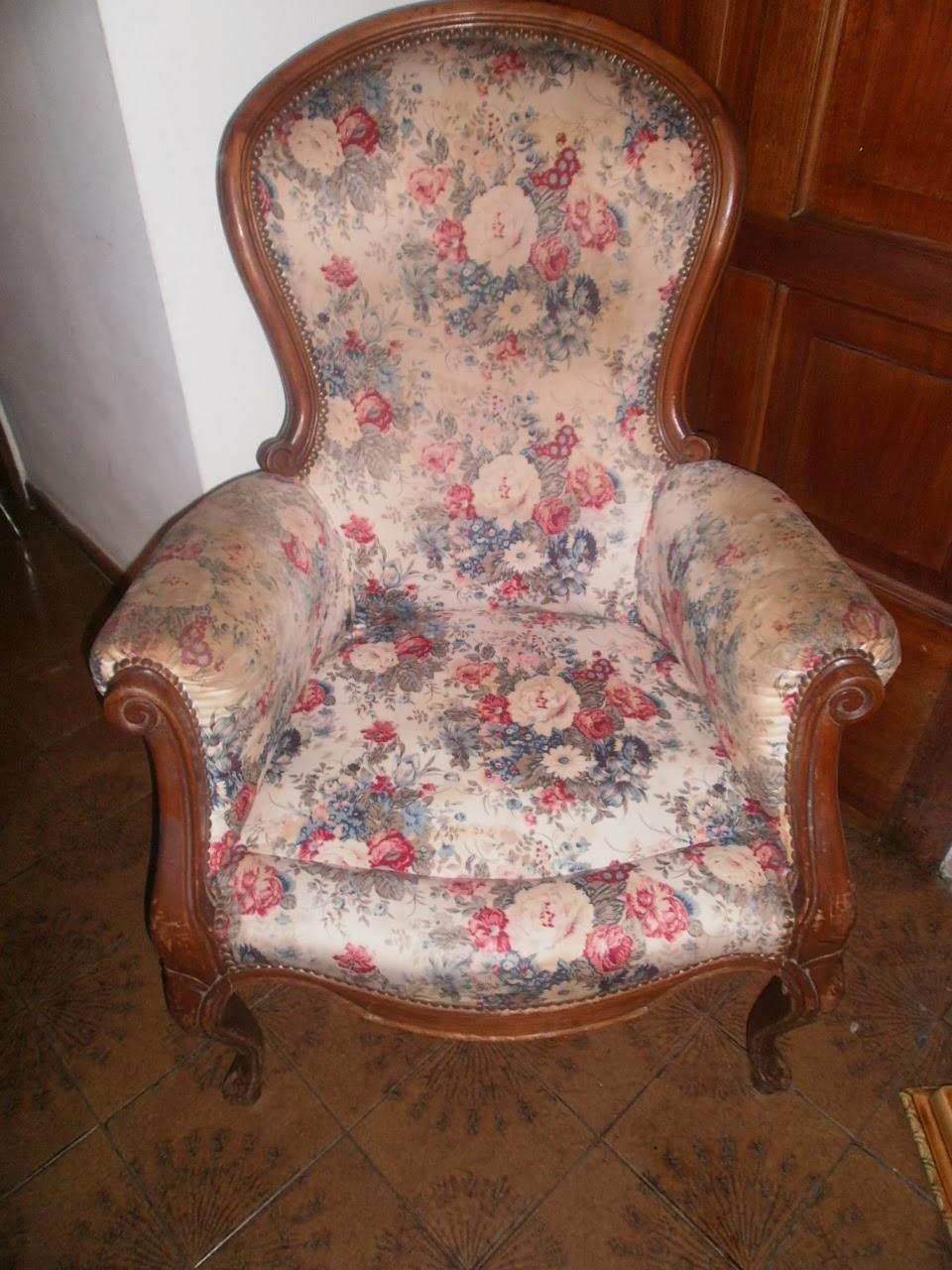 El motivo antig edades restauraci n de sillones de estilo for Sillones de estilo