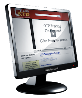 Now get QTP Training online