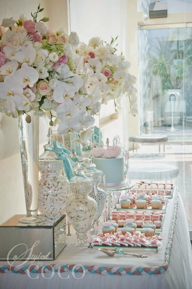 Party inspirations boy girl christening by styled by coco - Decoracion para bautizo de nina en casa ...