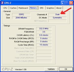 Dual Channel Memory RAM