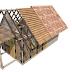Konstruksi dinding bambu dengan plesteran