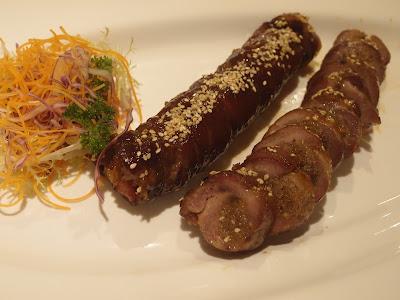 黑豚肉叉烧糯米卷