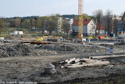 kviberg, bellevue, koloniområde, koloni, byggarbetsplats, foto anders n
