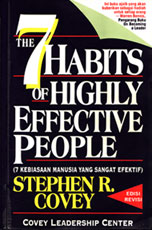 "Stephen R. Covey, penulis buku terlaris di dunia ""7 Habits of Highly Effective People"""
