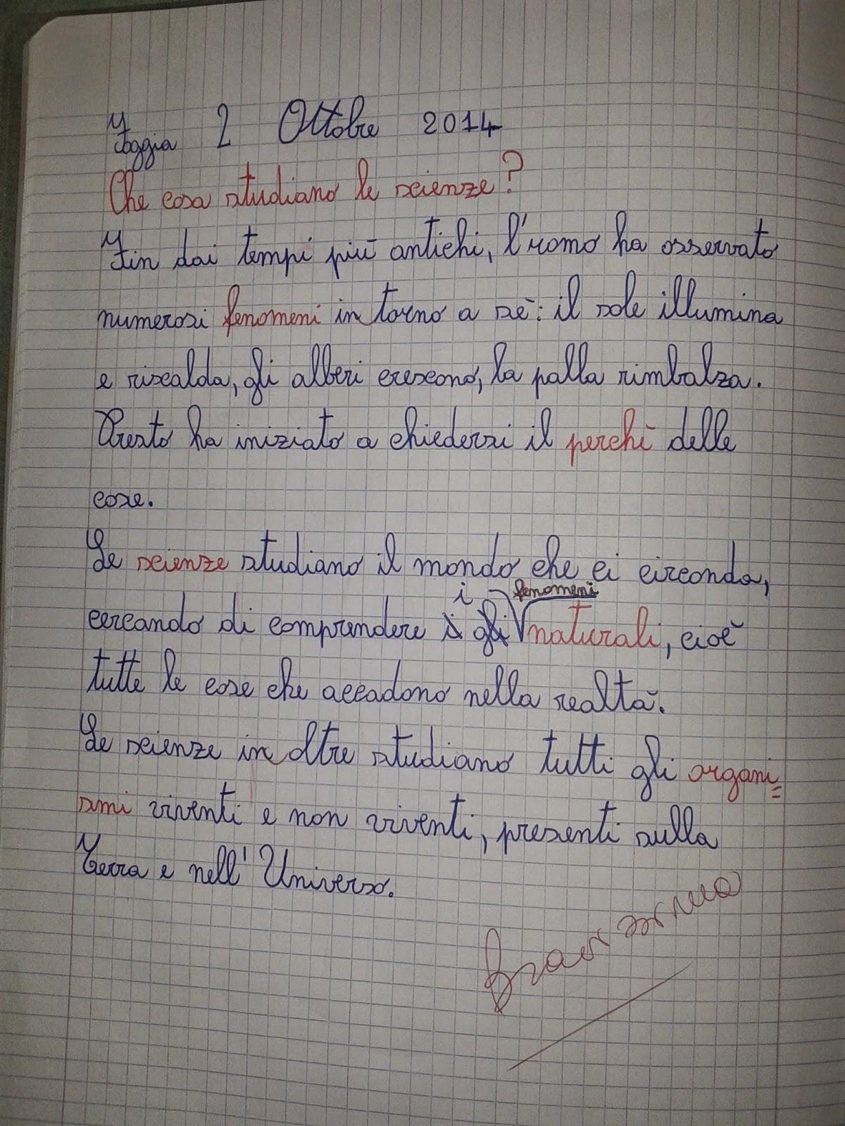 Souvent LA MAESTRA MARIA TI SALUTA: SCIENZE CLASSE TERZA CY13