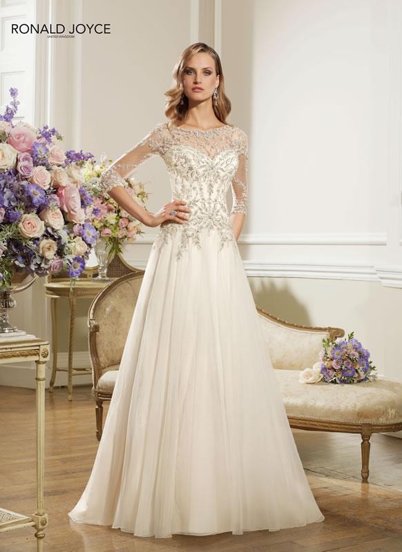Increíbles vestidos de novias | Colección Ronald Joyce