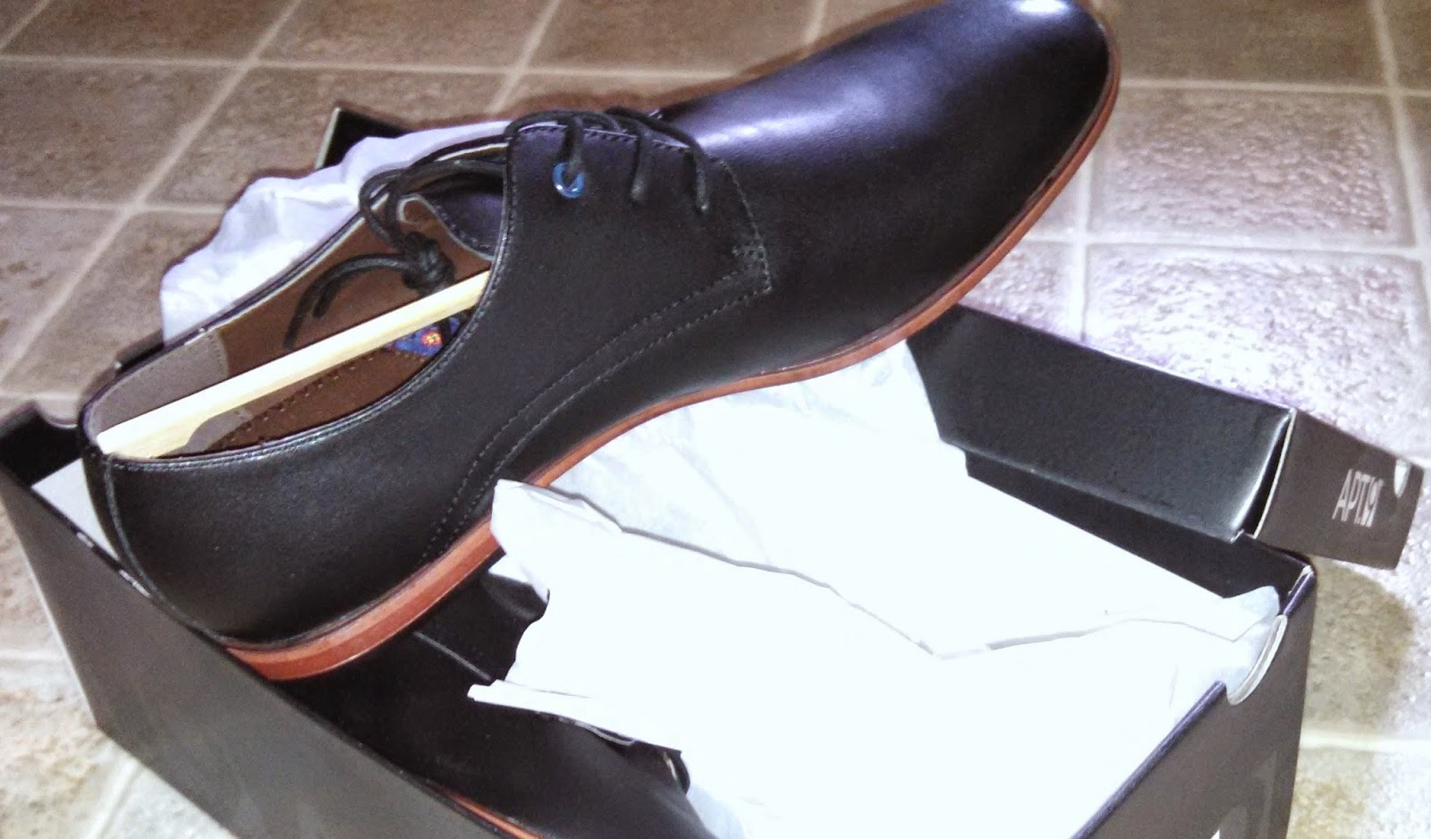 My new cheap dress shoes- under $25 for the pair!