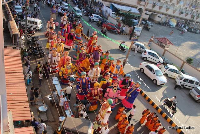 Udupi Paryaya 2016-18 Pura Pravesha Pejawara Swami 2