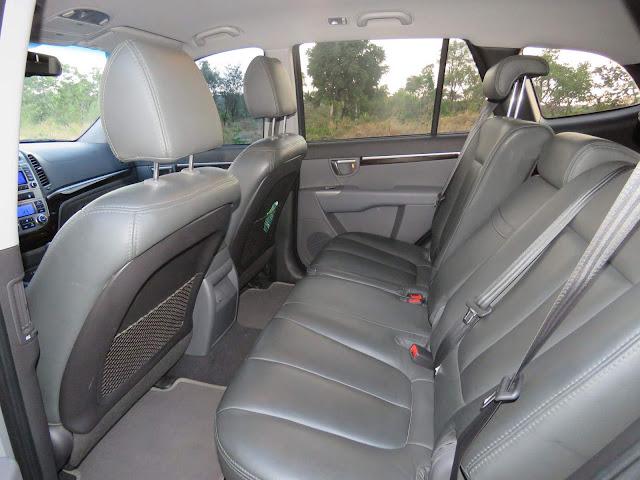 Hyundai Santa Fé 2.4L 2012 - interior