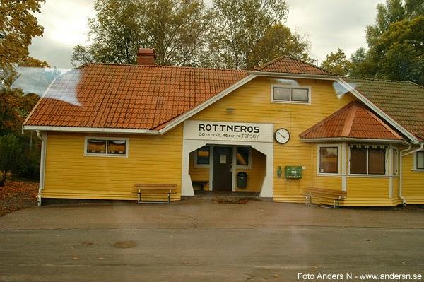 Rottneros station