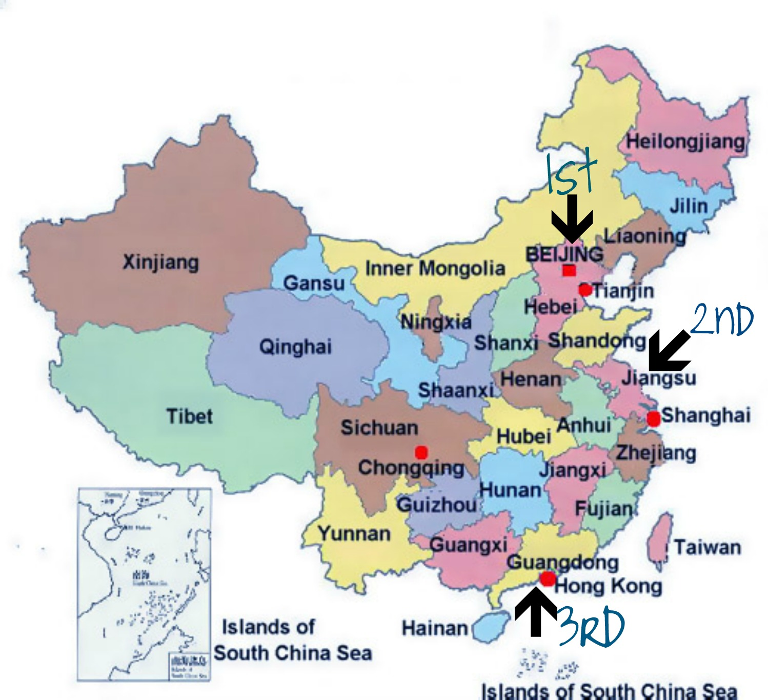 and third guangzhou the capital of guangdong province and the location of the u s consulate for six nights we expect the weather particularly in