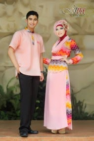 Desain Baju Muslim Couple Terbaru