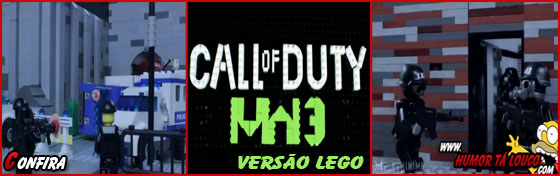 Vídeo Trailer - Call of Duty versão lego