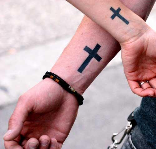Cross Tattoos For Men On Arm Info