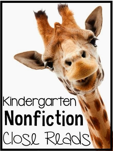 http://www.teacherspayteachers.com/Product/Kindergarten-Nonfiction-Close-Reads-10-Weeks-Included-1116241