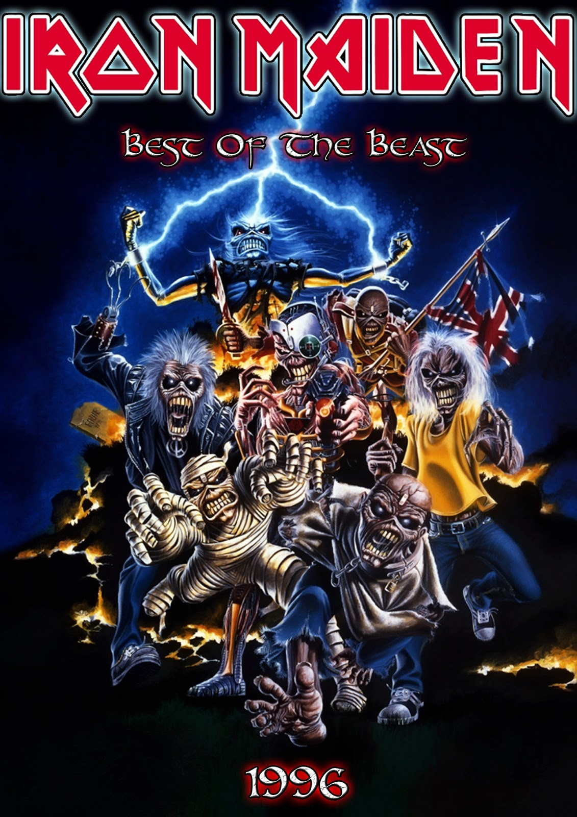 Metal Wallpaper Nash Iron Maiden Best Of The Beast