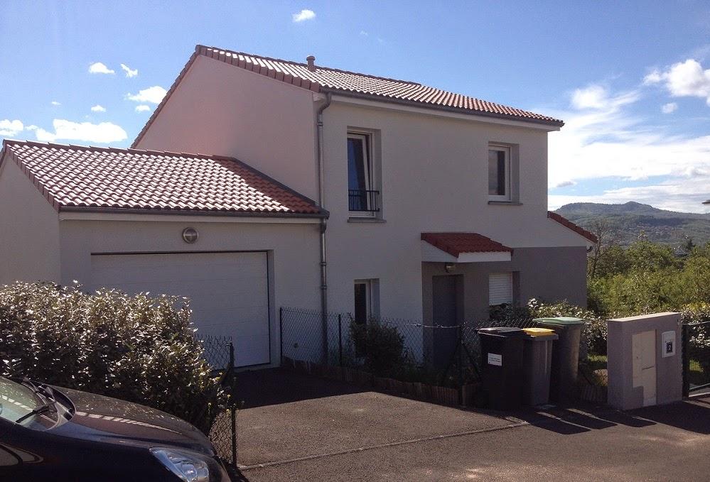 Maison crepis gris extension maison avec ytong finition for Extension maison ytong