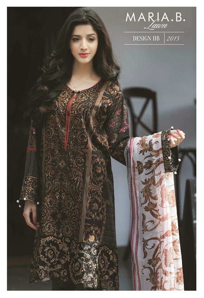 Maria b lawn 2015 catalogue