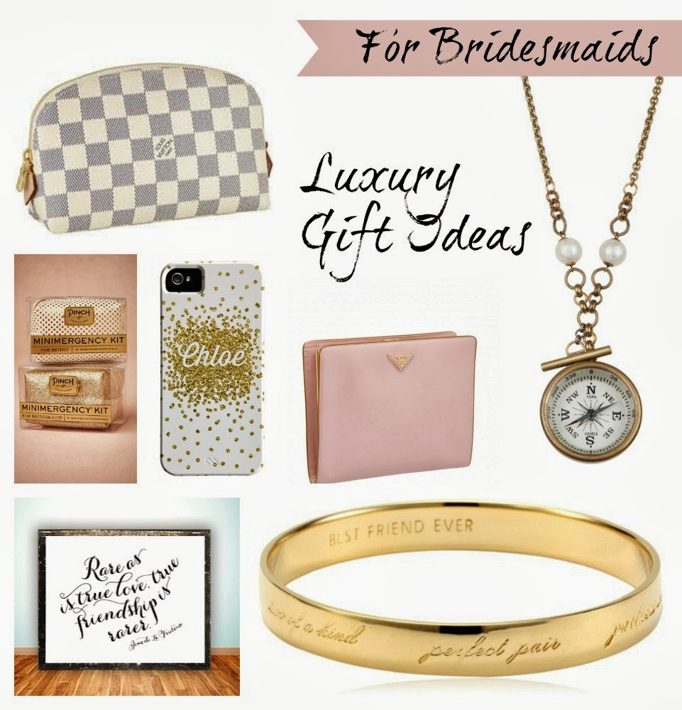 So Spencer Special Events Has Rounded Up Some Great Ideas To Give Your Bridesmaids As A Thank Yous