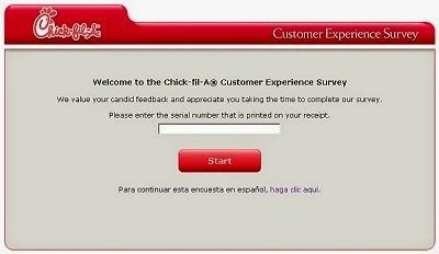 Chick-fil-A Survey