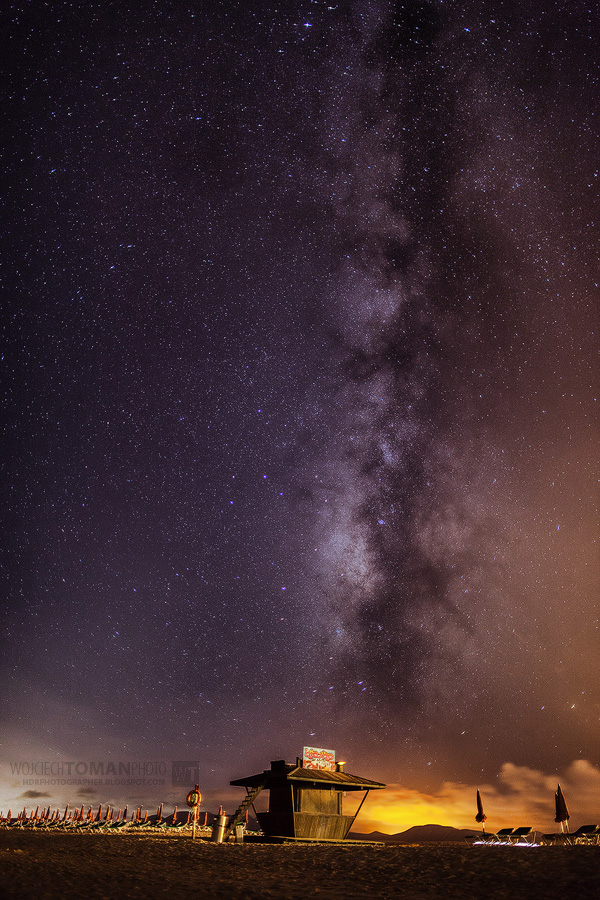 Milky Way over Fuerteventura Island