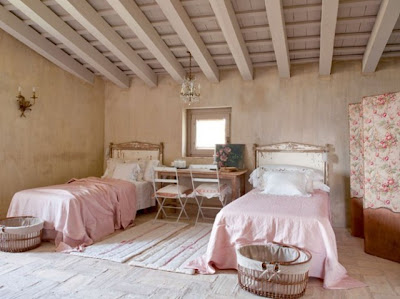 10 habitaciones para ni os decoraci n con colores suaves - Camera da letto rosa antico ...